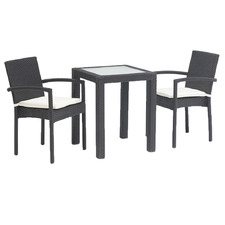 Lennon PE Rattan Outdoor Bistro Set