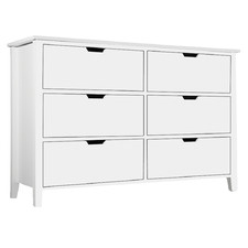 White Bell Chest of Drawers