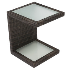 Arthur PE Rattan Outdoor Side Table