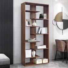Brown Andy 8 Tier Display Shelf