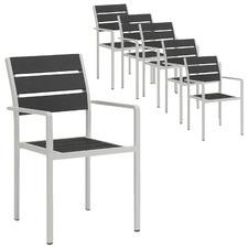 Estelle Aluminium Outdoor Dining Chairs (Set of 6)