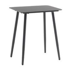 Dark Grey Lachlan Rectangular Aluminium Outdoor Bistro Table