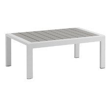 White Amariah Outdoor Coffee Table