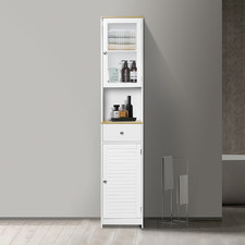 Lubov Tall Bathroom Cabinet