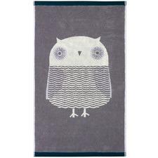 Owl Cotton Bath Towels (Set of 2)
