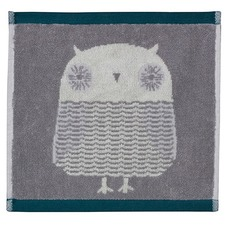 Owl Cotton Hand Towels (Set of 4)