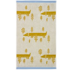 Sausage Dogs Cotton Hand Towels (Set of 4)