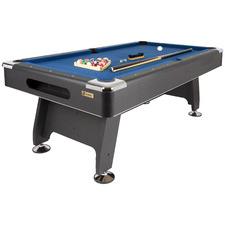Black & Blue Action Pool Table Set