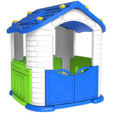 Blue & White Action Playhouse
