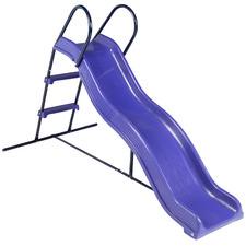 Purple Action Wavy Slide