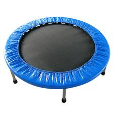 Blue Round Exercise Indoor Trampoline