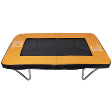 Kids' Orange Rectangular Trampoline