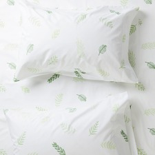 Leaf Me Breathless Cotton Standard Pillowcases (Set of 2)