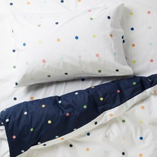 Spot & Dot Reversible Cotton Quilt Cover