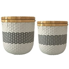 2 Piece Eco-friendly Basket Set