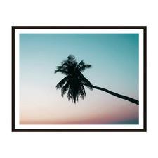 Horizontal Palm Framed Wall Art