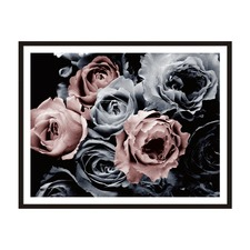 Mystical Roses Framed Wall Art