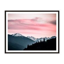 Rose Sky Framed Wall Art by ArteFocus