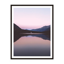 By The Lake Framed Wall Art
