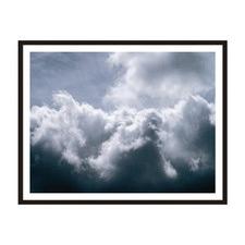 Clouds Framed Wall Art