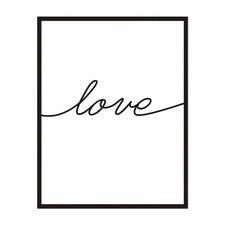 Love Framed Wall Art by ArteFocus