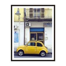 Retro Italy Framed Wall Art