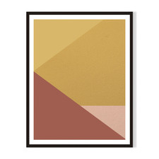 Geometric II Framed Printed Wall Art