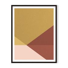 Geometric III Framed Printed Wall Art