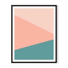 Geometric VI Framed Printed Wall Art
