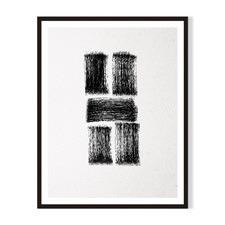 Lines III Framed Printed Wall Art
