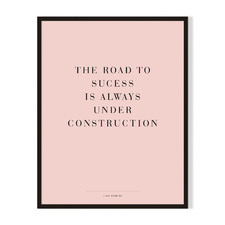 The Road Framed Printed Wall Art
