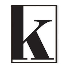 K Framed Printed Wall Art