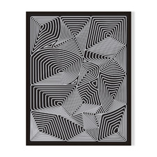 Topography Framed Printed Wall Art