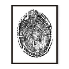 Wood III Framed Printed Wall Art