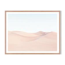 Moving Sands Framed Printed Wall Art