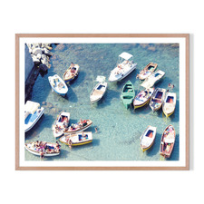 Island Life Framed Printed Wall Art
