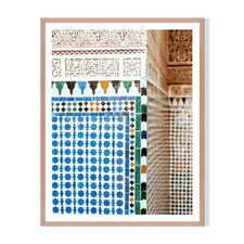 Oh Morocco Framed Printed Wall Art