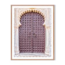 Moroccan Door Framed Printed Wall Art