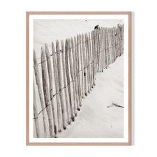 Divided Sands Framed Printed Wall Art
