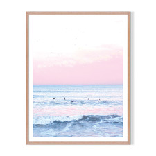 Perfect Surf Framed Printed Wall Art