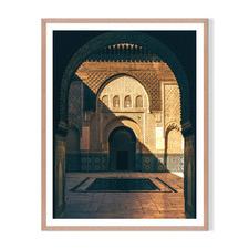 Moorish Arch Framed Printed Wall Art