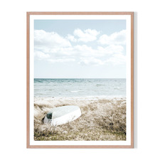 Windy Day Framed Printed Wall Art