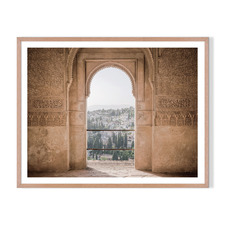 Moorish Vista Framed Printed Wall Art