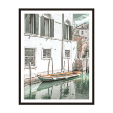 Parked Out Front Framed Printed Wall Art