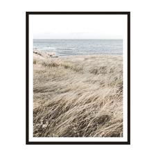Ocean Grass Framed Printed Wall Art