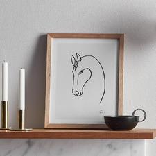 Horse 2 Framed Wall Art
