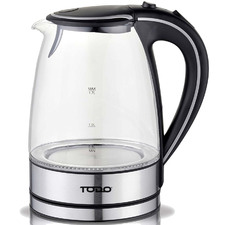 1.7L Cordless Glass Kettle