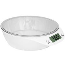 White 5kg Sleek Kitchen Scales