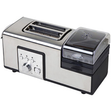 Silver Multi-Functional Breakfast Master & Fryer