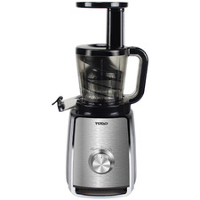 Black 900ml Stainless Steel Cold Press Slow Juicer